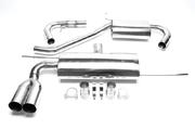 Выхлопная система из нержавеющей стали 2x76mm VW Golf V/ Audi A3 8P TA-Technix EVOG5AE276S