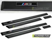 BMW M3 E36 седан, Touring молдинги дверей с логотипом  Tuning-Tec LIBM01