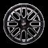 Колесный диск LMR VENUS R20 8,5J 5X120 ET45 ЦО65,1 BLACK POLISHED LIP