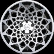 Диск Radi8 r8b12 R18 9,5J PCD 5x100 ET 35 Gloss Black Machined Face