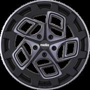 Диск Radi8 r8cm9 R18 8,5J PCD 5x112 ET 35 Dark Mist