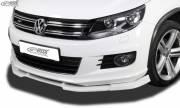 VW Tiguan 5N R-line рестайлинг 2011-2016 накладка спойлер переднего бампера VARIO-X RDX RDFAVX30767