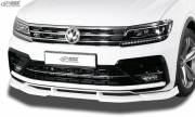 VW Tiguan II R-line 2016- накладка спойлер переднего бампера VARIO-X RDX RDFAVX30841