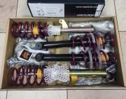 Skoda Octavia 5E 2WD седан Kombi многорычажка стойка 50 мм 2.13 - Винтовая подвеска Vogtland с регулировкой по высоте